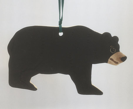 Tewksbury Porcelain Ornament - Black Bear