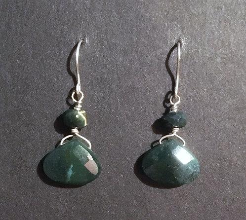 Galloway Green Jasper Earrings