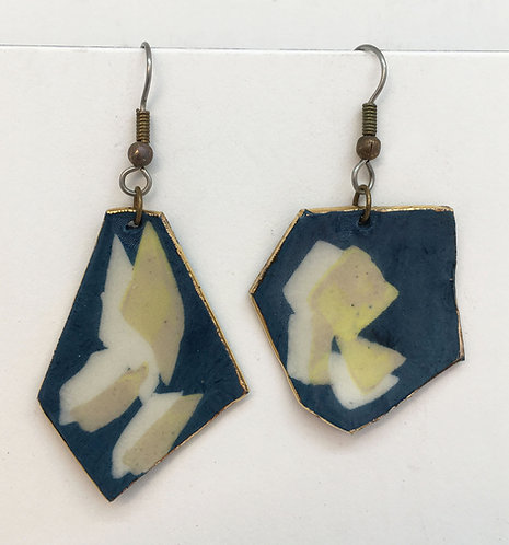 Zach Porcelain Earrings