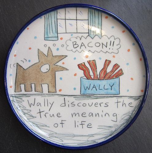 Wallyware BACON!! Plate