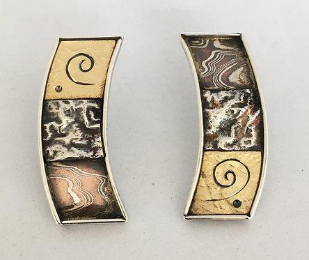 Judy Hoch Sterling Silver Earrings