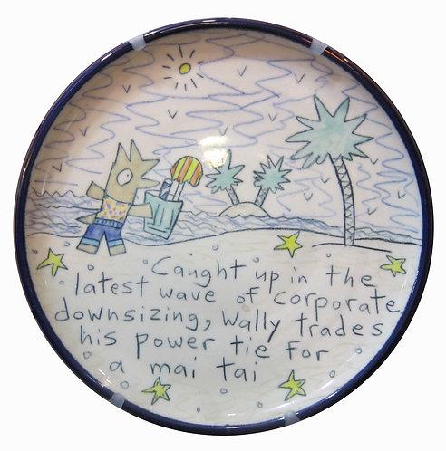Wallyware Mai Tai Plate
