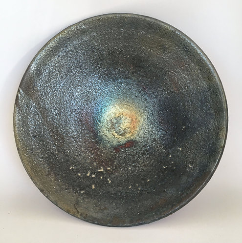 Wheel Art Raku Bowl