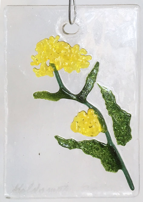 Goldsmith Fused Glass Suncatchers - Small floral