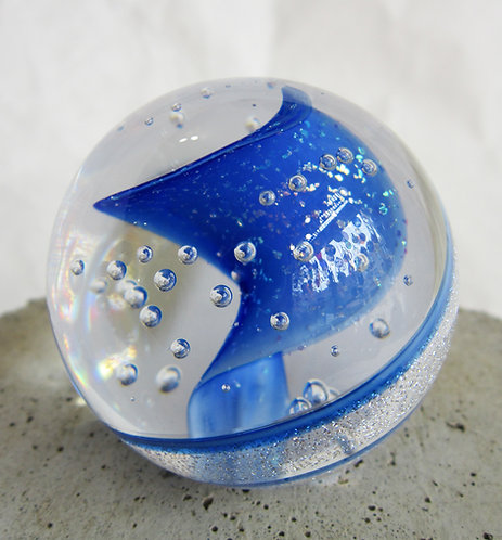 Glass Eye Glass Marble Weight