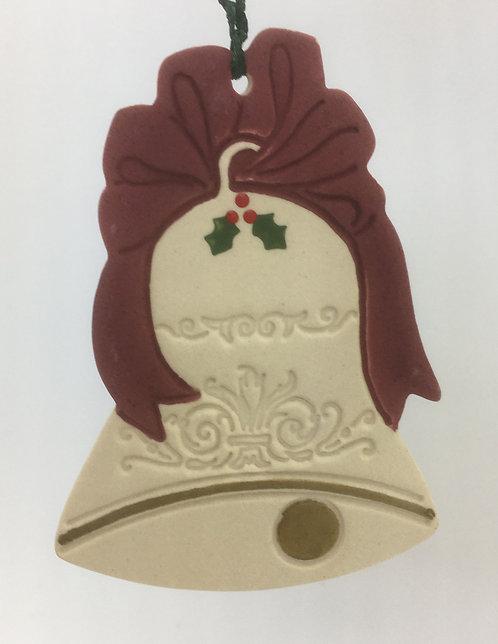 Tewksbury Porcelain Ornament - Bell