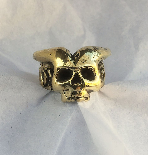 Eli Secrest Bronze Demon Ring Size 5