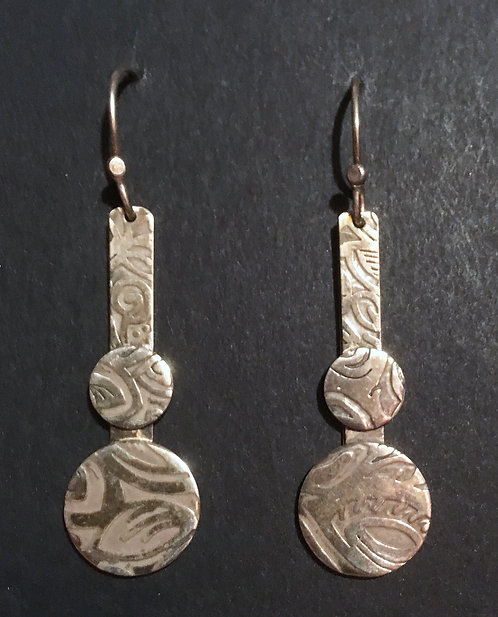 Beth Abramovitz Sterling Silver Earrings