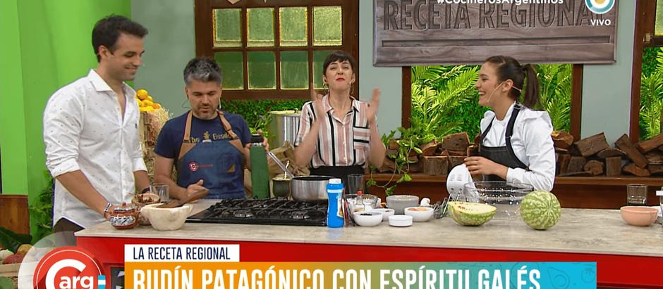 Julia en Cocineros Argentinos: budín patagónico de chocolate y especias
