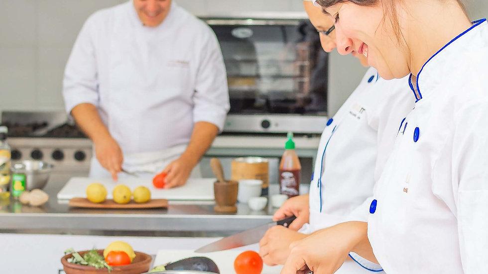 Matrícula Intensivo Cocinero Profesional 2021