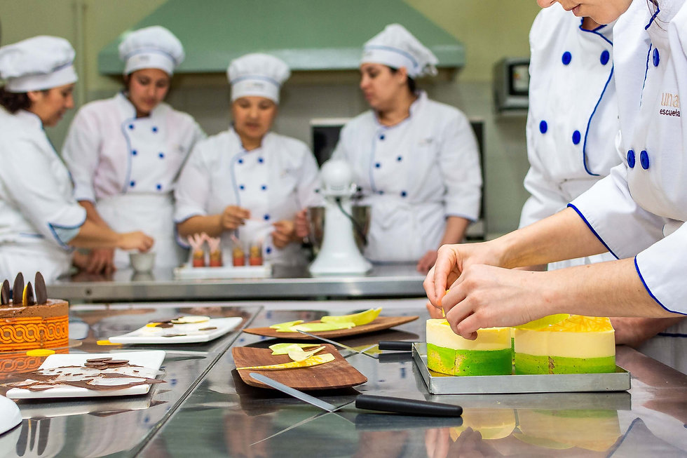 carrera pastelería profesional unamesa