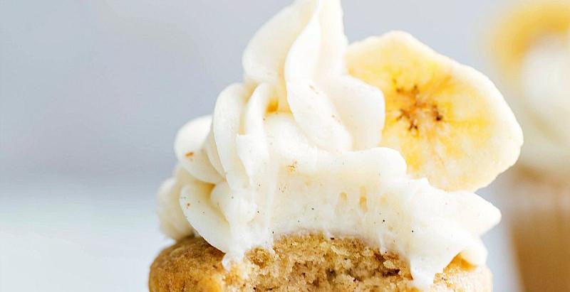 Receta: cupcakes de banana