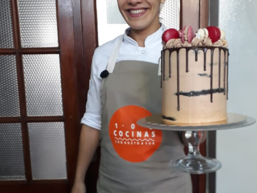 Receta: drip cake de Julia en 100 cocinas