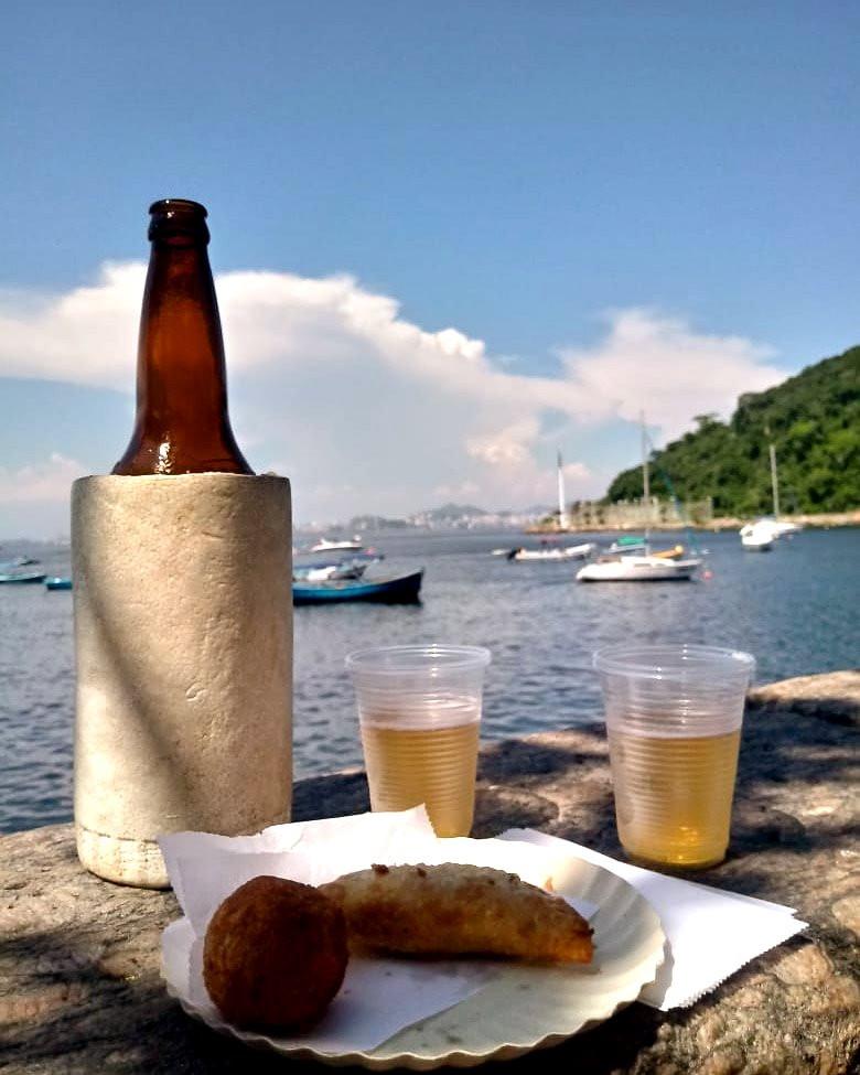 Bar Urca, unamesa en Río