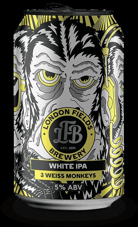 London Fields Brewery - 3 Weiss Monkeys