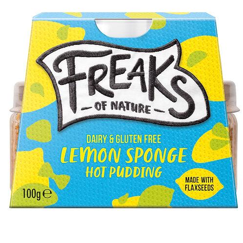 Freaks of Nature - GF Lemon Sponge hot pudding
