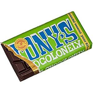Tony's Chocolonely Dark Chocolate Almond and Sea Salt - 47g bar