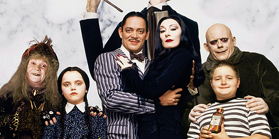Pirate Cinemarrrgh Presents: The Adams Family