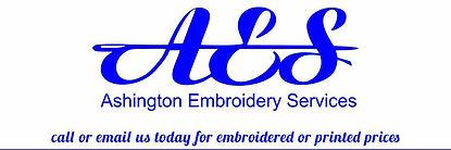 Ashington Embroidery Services logo