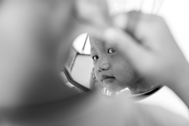 CHILD IN THE MIRROR