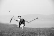 Bamboo Sticks & Empty Shells. Baseball on the Dry Lake #2