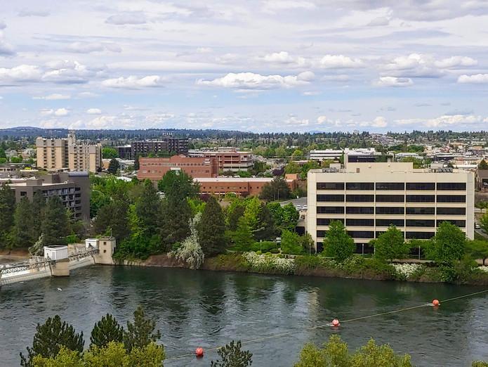 Spokane waterfront