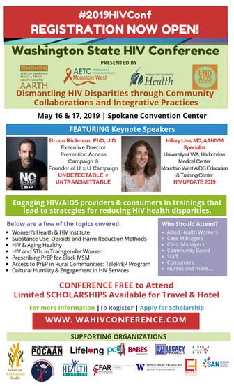 WA State Conference flyer