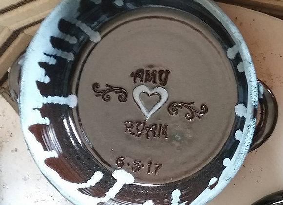 Custom Baking Dish (Wedding)