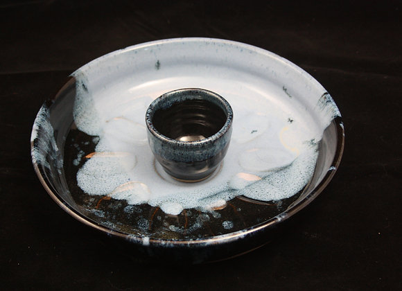 Oyster/ Egg Dish w/ Bowl