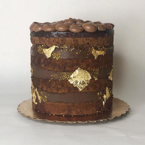 Signature Chocolate Lovers Naked Cake