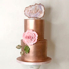 Rose Gold Metallic Cake.jpg