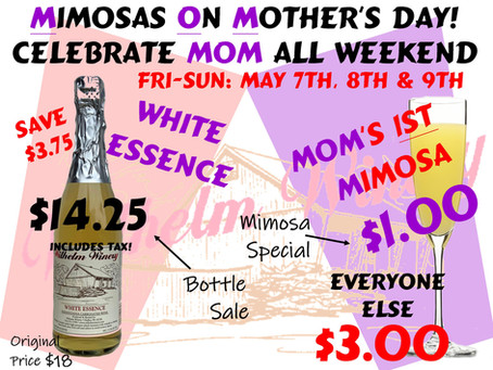 Mimosas On Mother's Day-3 Day Sale!
