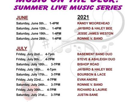 Wilhelm Winery's Summer Live Music Series