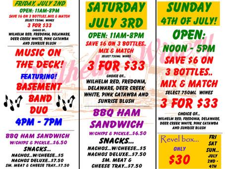 4th of July Weekend Savings