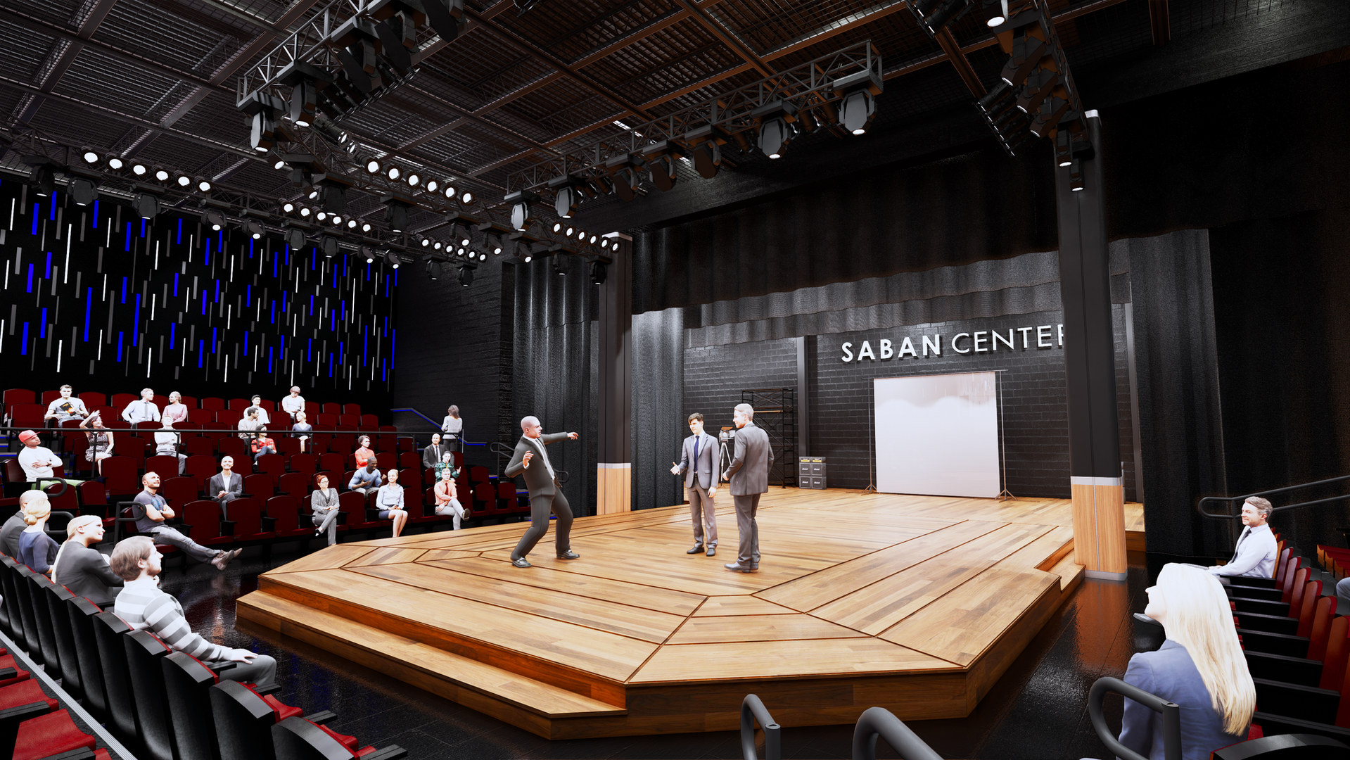 Conceptual Rendering- Theater