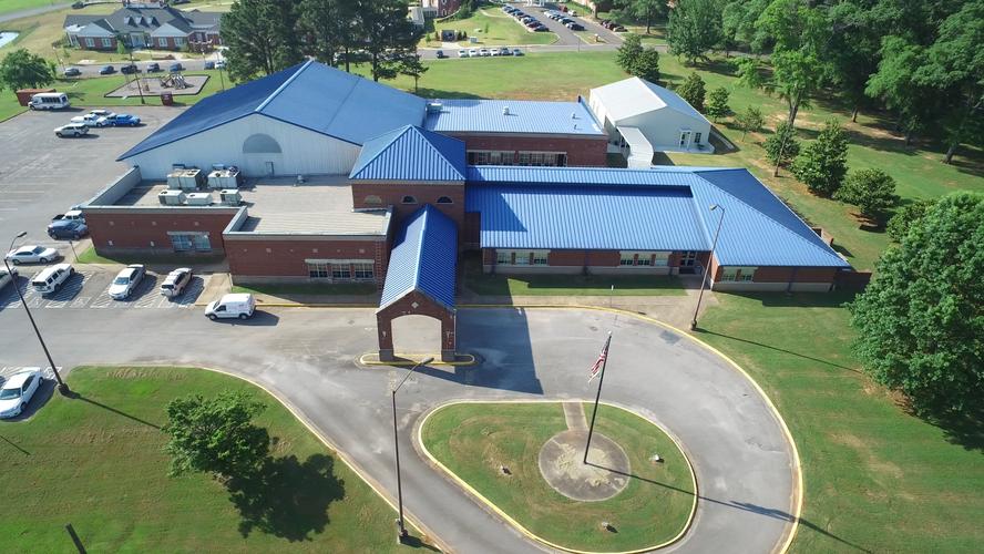McAbee Center Drone Shot