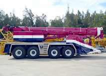 100T Grove GMK4100 All Terrain Crane