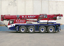 80T Grove GMK4080 All Terrain Crane
