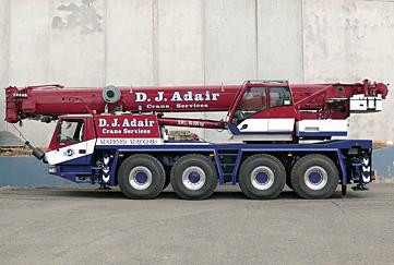 Our-history   Sydney Hawkesbury   D J Adair Crane Services
