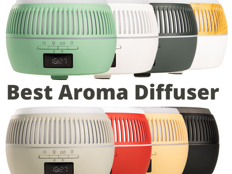 Best Aroma Diffuser to buy in 2021 — with Bluetooth speaker