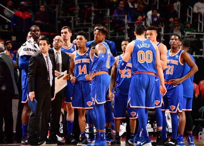 Enes_Kanter_David_Fizdale_New_York_Knicks_NBA_Around_the_Game