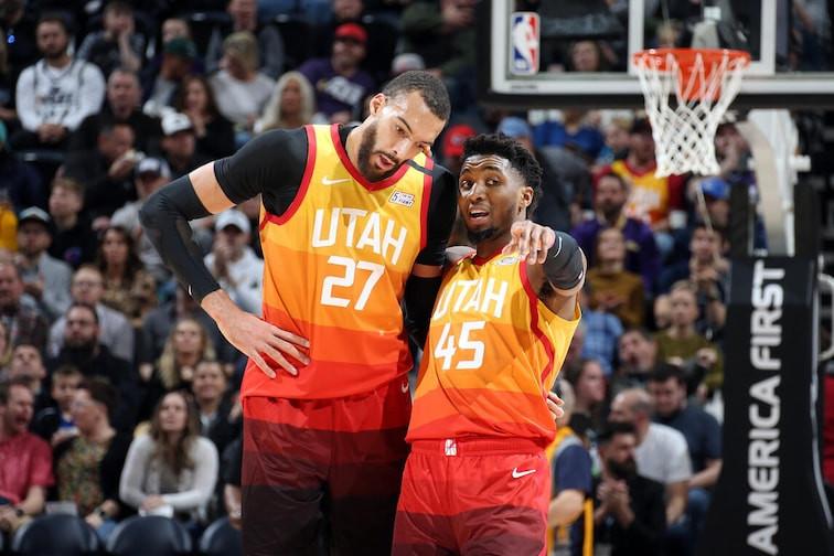 rudy_gobert_donovan_mitchell_utah_jazz_NBA_Around_the_Game