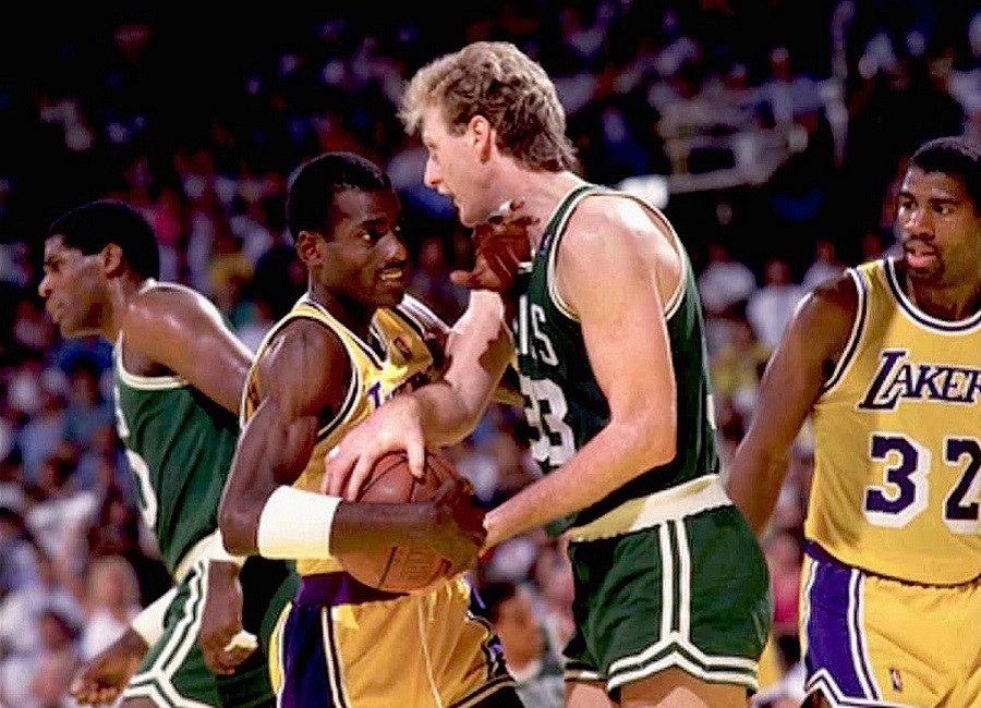 Larry_Bird_Michael_Cooper_Los_Angeles_Lakers_NBA_Around_The_Game