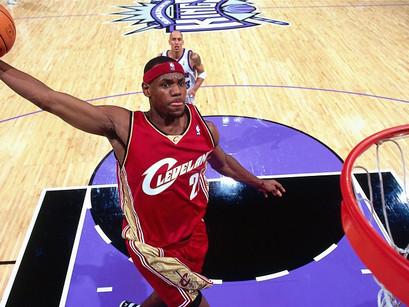 I primi 12 minuti di LeBron James in NBA