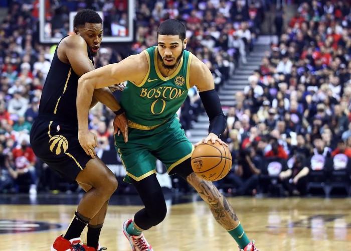 Jayson_Tatum_Kyle_Lowry_Boston_Celtics_Toronto_Raptors_NBA_Around_The_Game