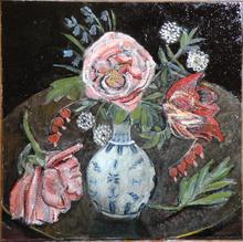flowers & chinese vase