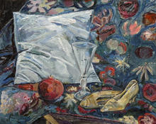 still life with dancing slippers