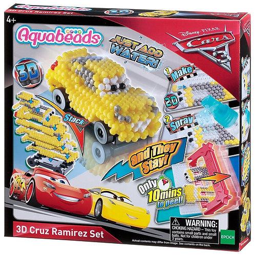 Cars 3 3D Cruz Ramires Set