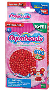 Red Jewel Solid Bead Pack