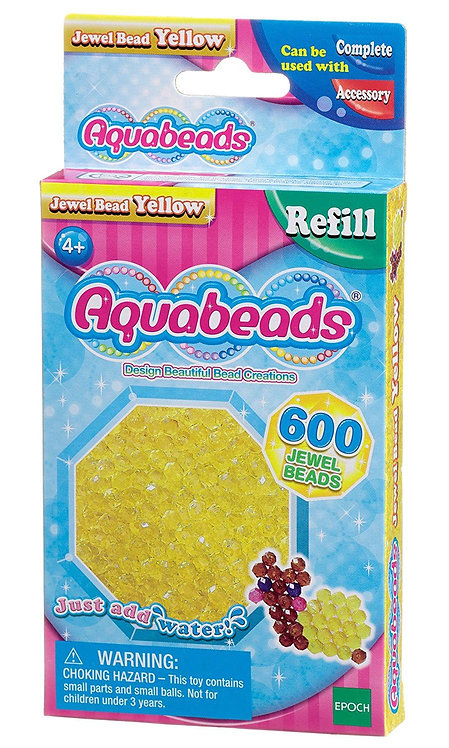 Yellow Jewel Solid Bead Pack